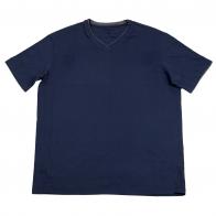 Темно-синяя футболка Roundtree&Yorke