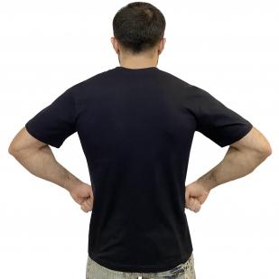 Темно-синяя мужская футболка ВМФ