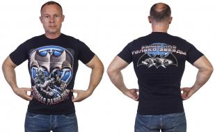 """Темно-синяя футболка """"Военная разведка"""" - купить в Военпро"""
