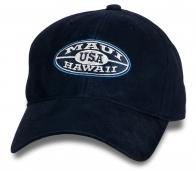 Темно-синяя кепка-бейсболка Maui.