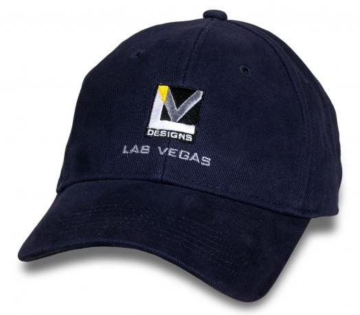 Темно-синяя кепка Design Las Vegas.