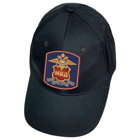 Темно-синяя кепка МВД