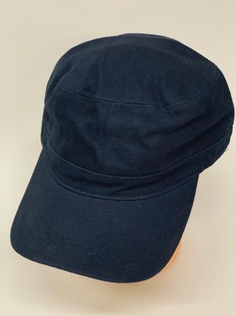 Темно-синяя кепка-немка классического кроя