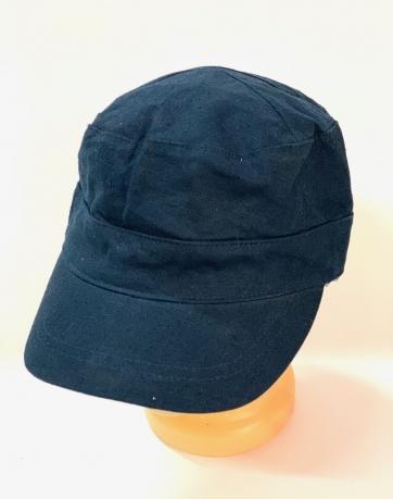 Темно-синяя кепка-немка
