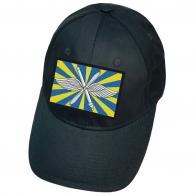 Тёмно-синяя кепка с флагом ВВС России