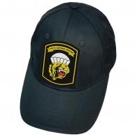 Тёмно-синяя кепка с нашивкой Честь дороже жизни