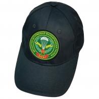 Тёмно-синяя кепка с нашивкой ДШМГ