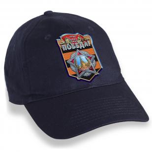 Темно-синяя кепка с символикой Великой Победы