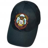 Тёмно-синяя кепка с вышивкой Спутник