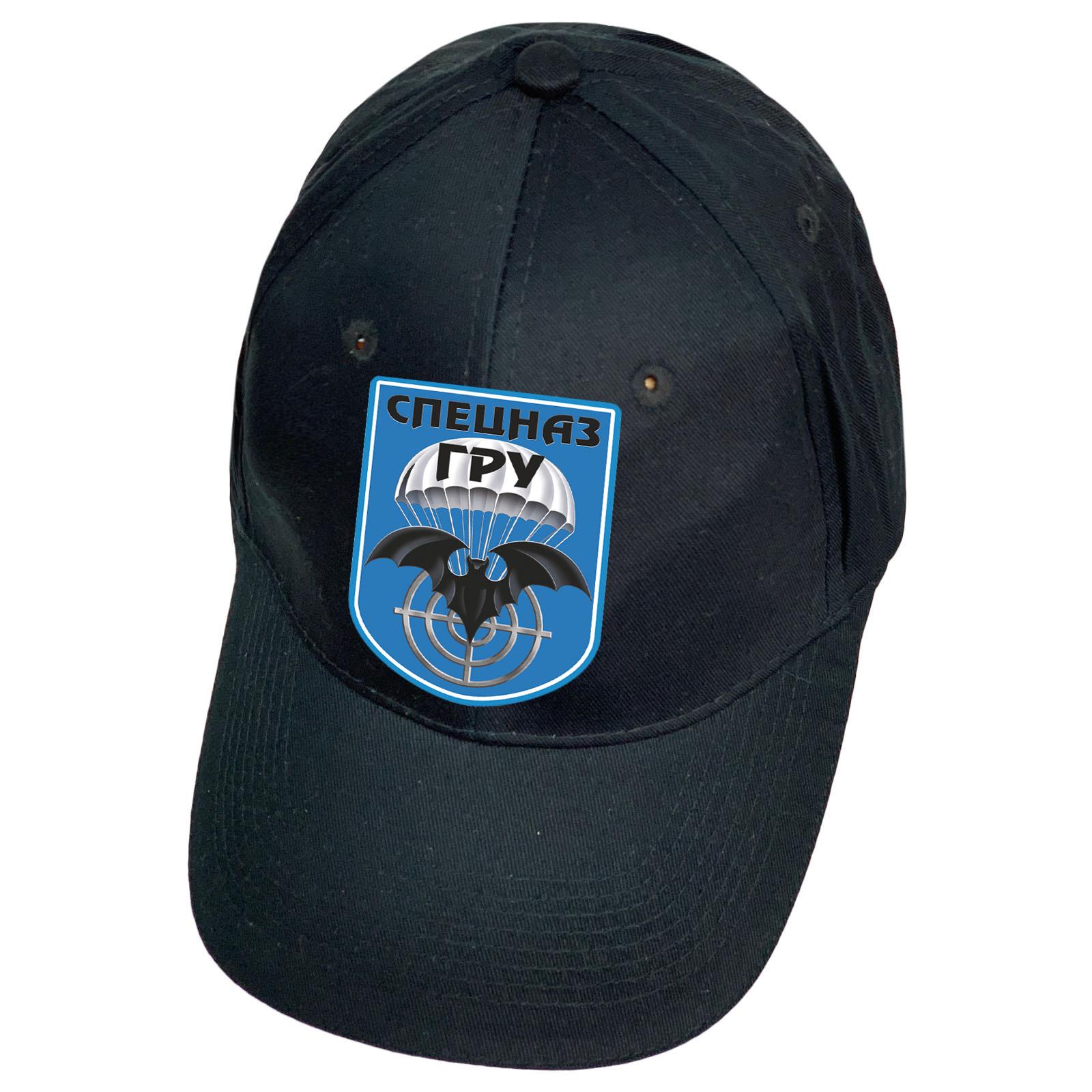 Темно-синяя кепка Спецназа ГРУ