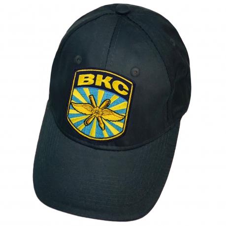 Тёмно-синяя кепка ВКС