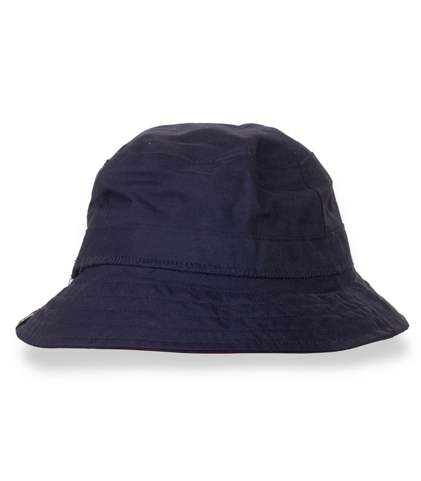 Темно-синяя летняя мужская панамка