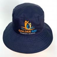 Темно-синяя летняя панама Golden Bay