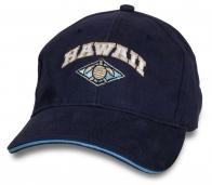 Темно-синяя мужская бейсболка Hawaii.