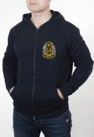 Темно-синяя мужская толстовка с эмблемой Балтийский флот купить онлайн