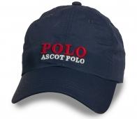Темно-синяя практичная бейсболка Polo