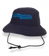 Темно-синяя сочная шляпа-панама