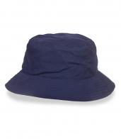 Темно-синяя стильная панама - заказать онлайн
