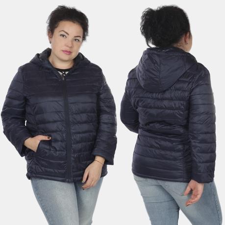 Темно-синяя женская куртка Rosa Thea (Италия).