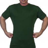 Темно-зеленая мужская футболка Outdoor life. - заказать выгодно
