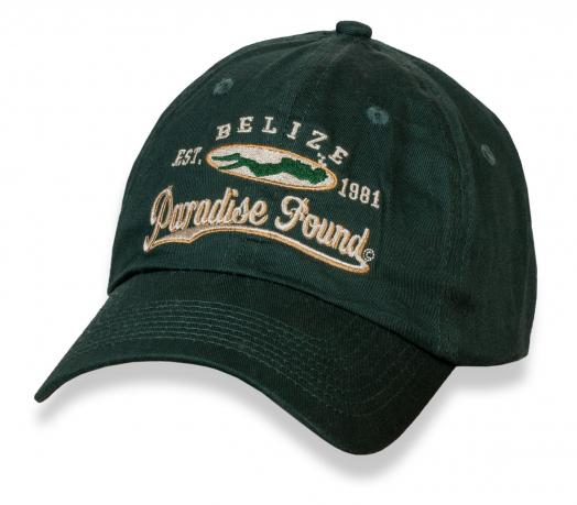 Темно-зеленая летняя бейсболка Belize