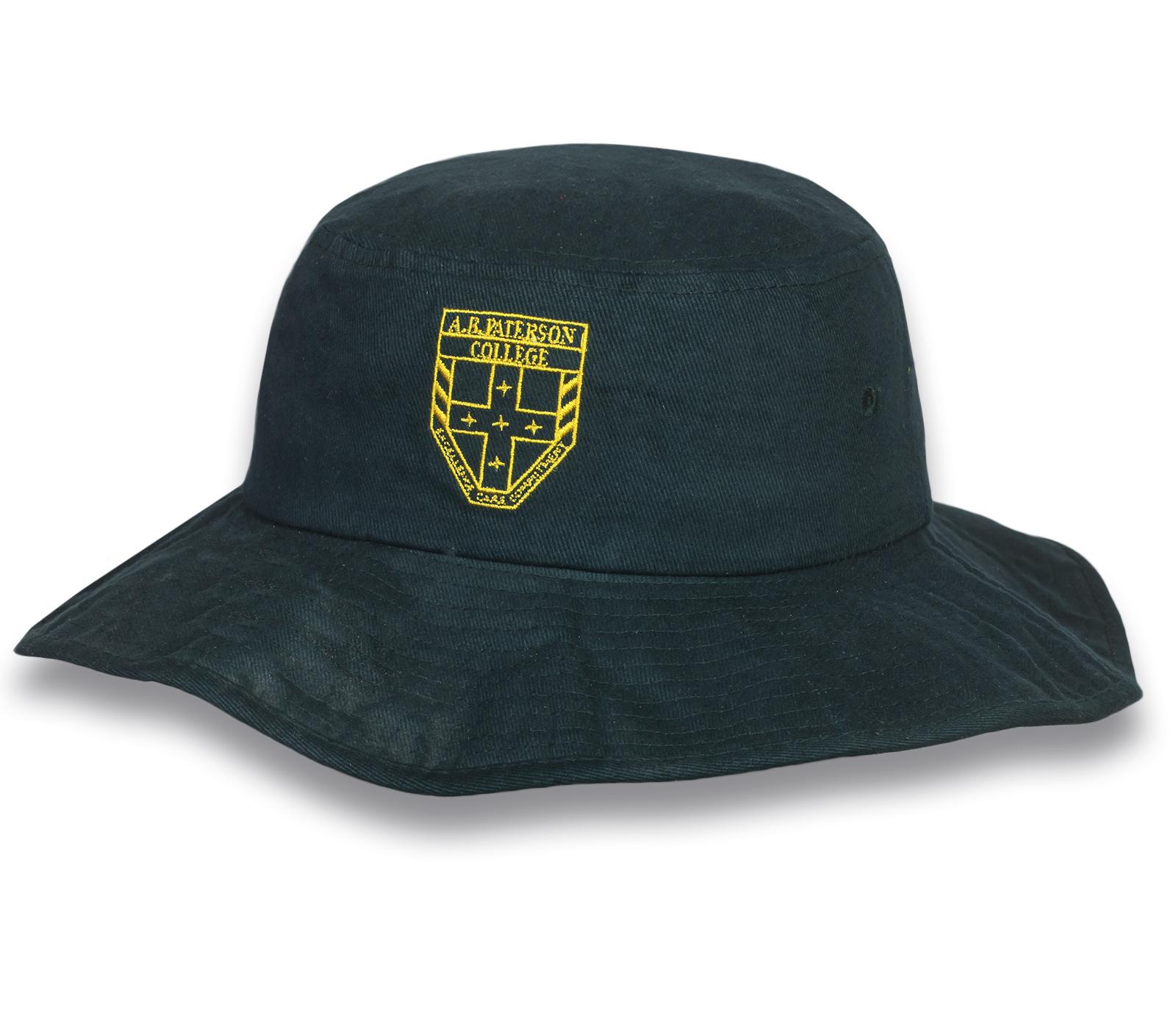 Темно-зеленая сочная шляпа-панама - купить онлайн