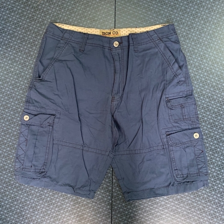 Темные мужские шорты с карманами