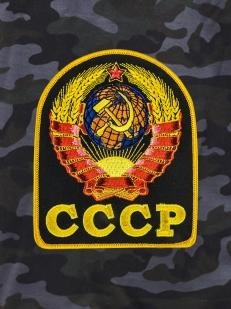 Темные оригинальные шорты с нашивкой СССР