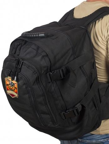 Темный трехдневный рюкзак с нашивкой Русская Охота