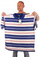 Удобная брендовая футболка поло для крупных мужчин.