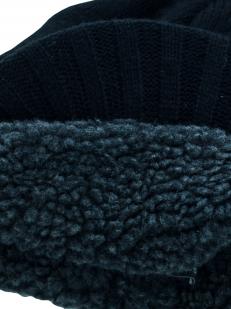 Теплая эпатажная в стиле ретро мужская шапка из шерсти