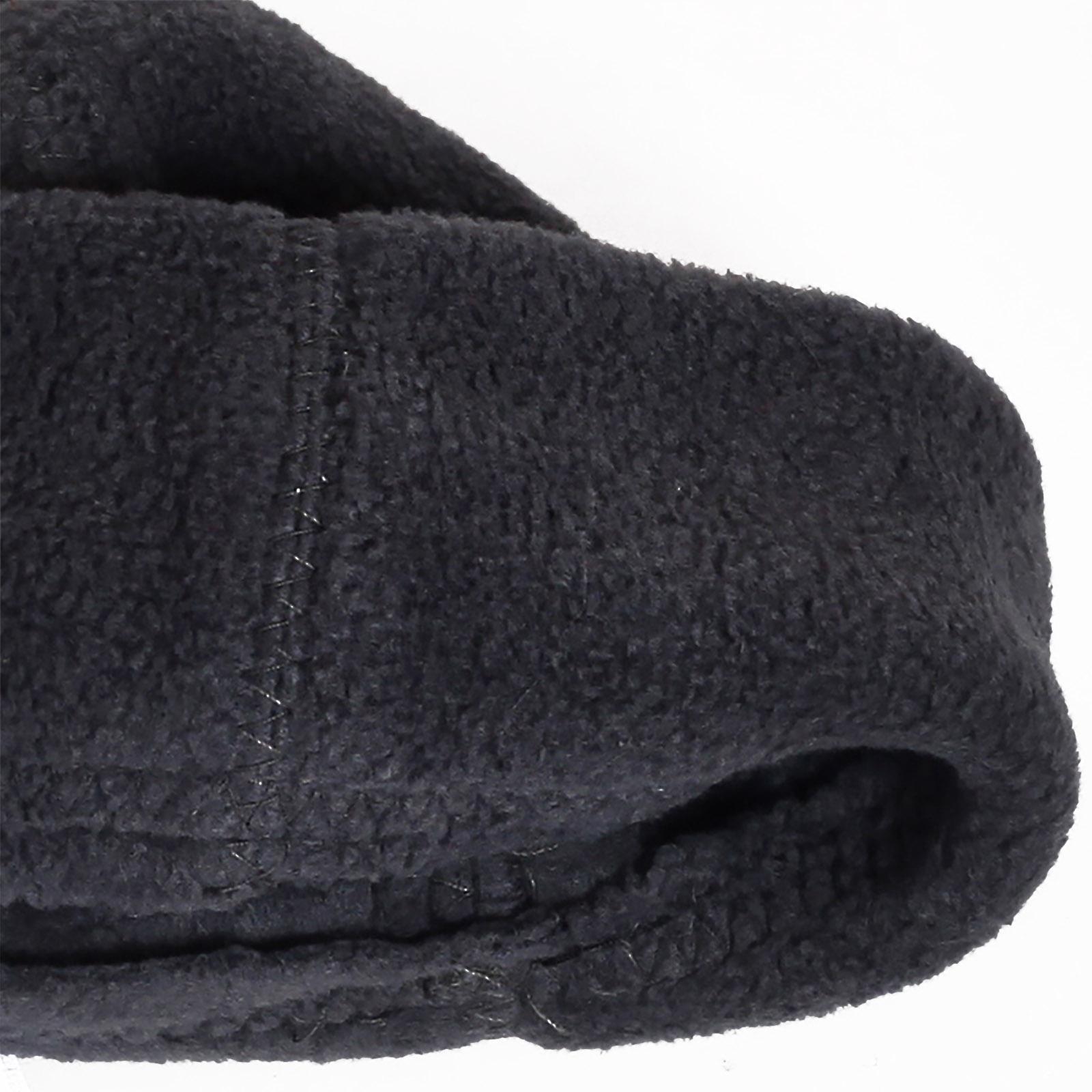 Купить теплую флисовую мужскую шапку с флисовой подкладкой по лояльной цене