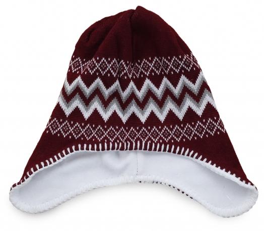 Теплая флисовая шапка-шлем для подвижных детишек. Удобная форма и теплая ткань защитят от холода, а модные цвета понравятся каждому ребенку