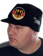 Тёплая кепка-немка от бренда Miller Way с официальной символикой Федеративной Республики Германии