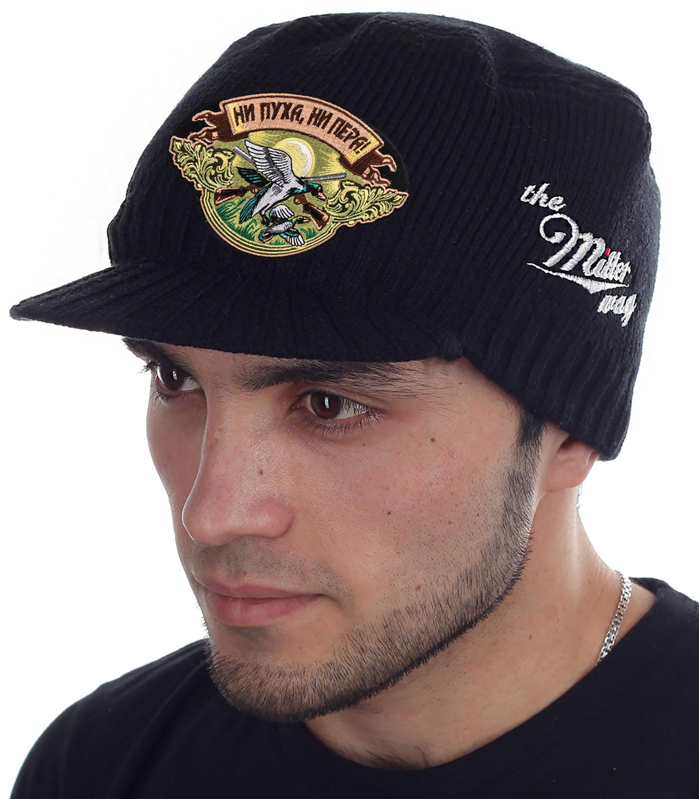 Теплая мужская кепка от бренда Miller Way - купить в подарок