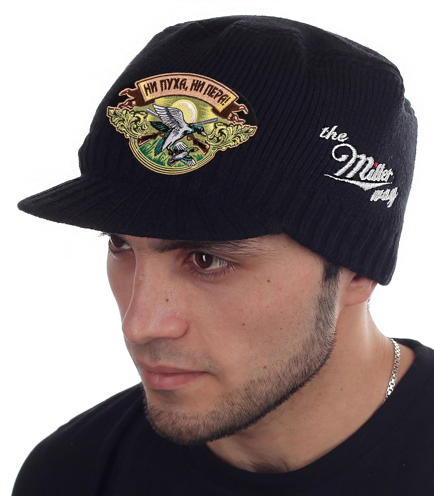 Теплая мужская кепка от бренда Miller Way - купить в розницу