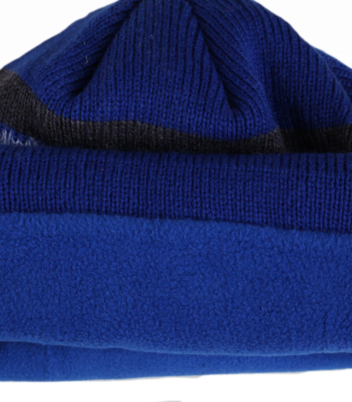 Заказать теплую мужскую шапку с отворотом спортивного стиля отменный функциональный аксессуар с флисом по лучшей цене