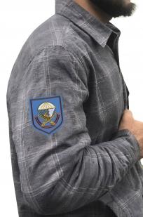 Теплая рубашка с вышитым шевроном 217 ПДП ВДВ - купить онлайн