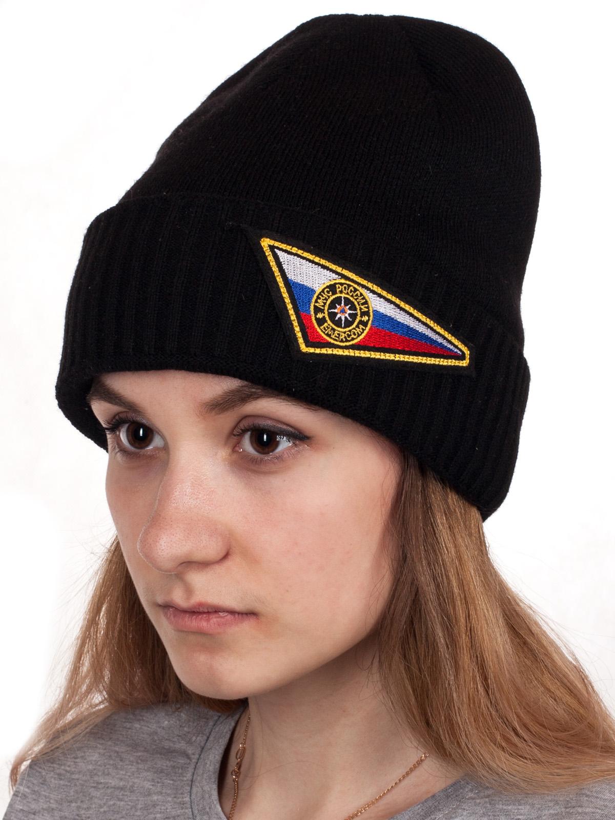 Зимняя шапка для сотрудников и сотрудниц МЧС