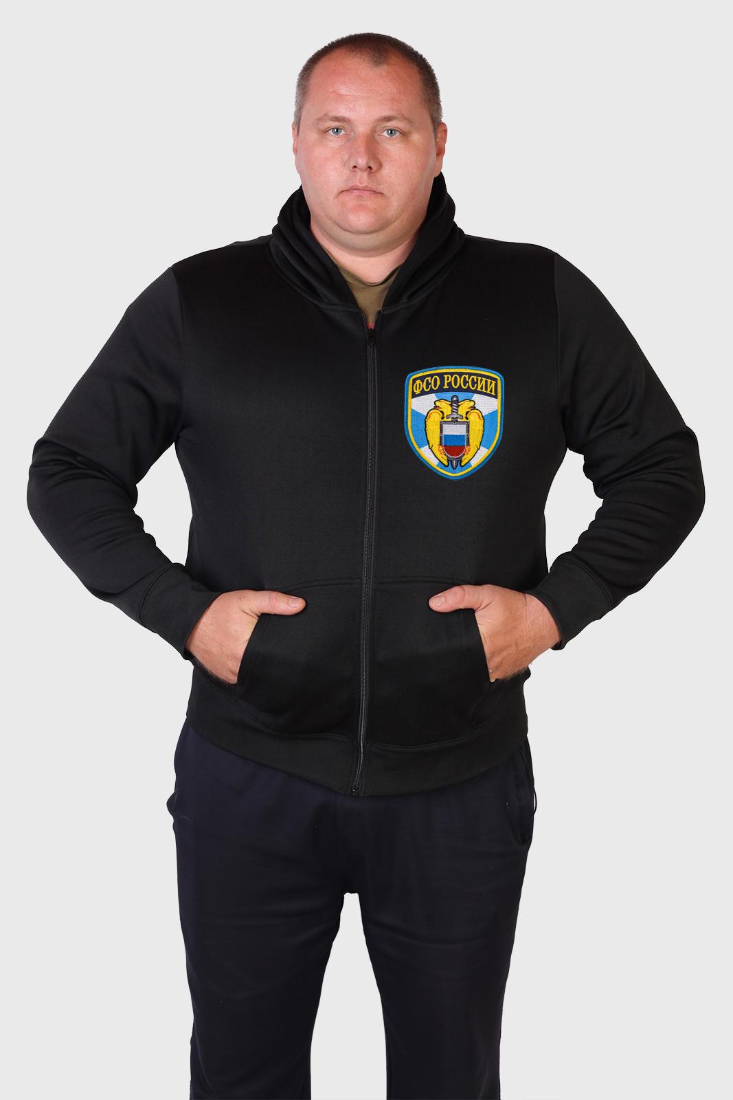 Недорогая мужская толстовка с эмблемой ФСО