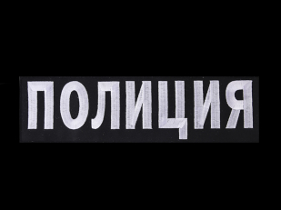 Теплая толстовка с нашивкой Полиция России купить по лучшей цене