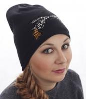 Тёплая женская шапка с флисом