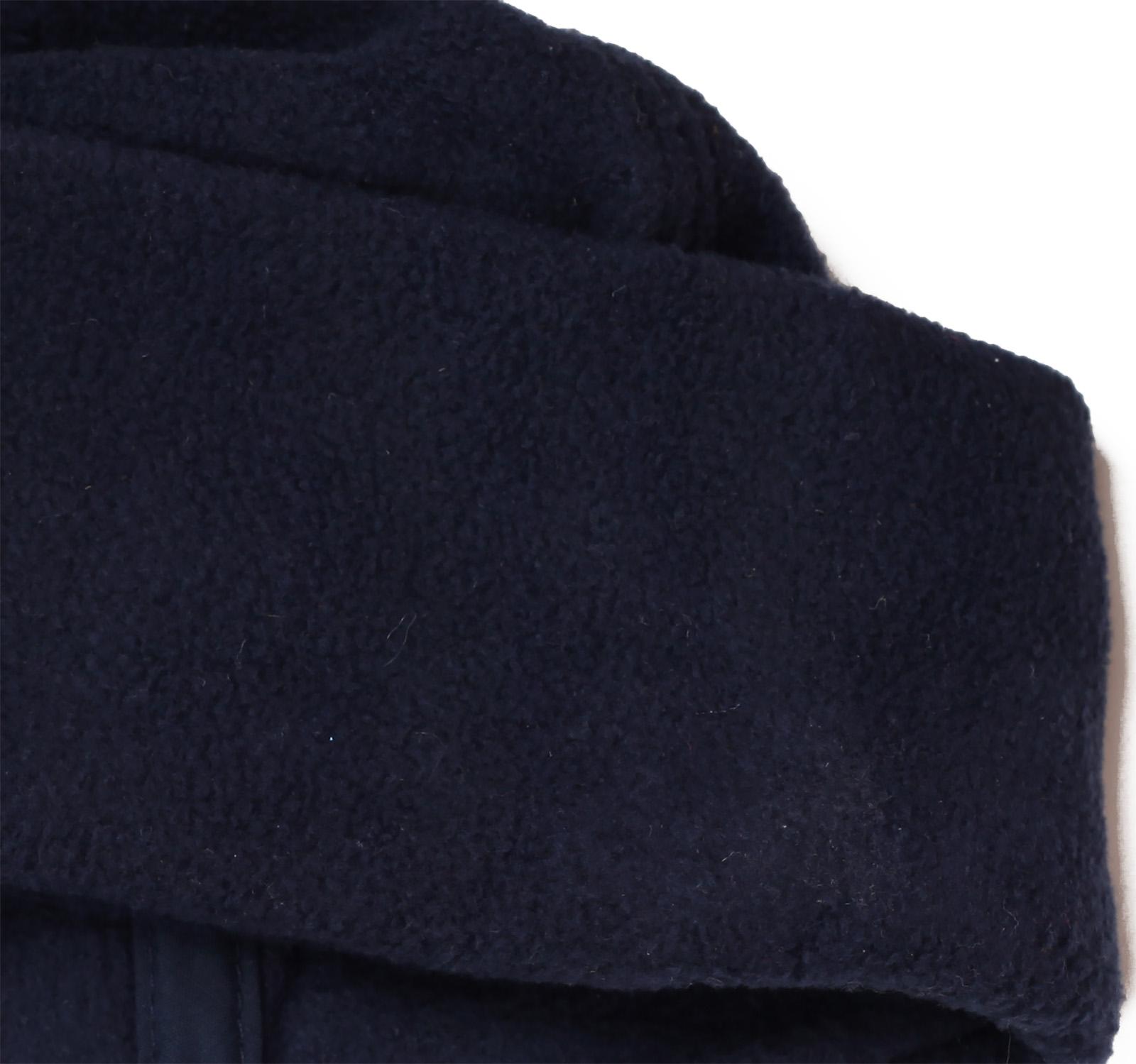 Заказать теплую зимнюю флисовую шапку с  большим отворотом, на флисе по низкой цене