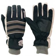 Теплые контрастные перчатки от крутого бренда Canucks