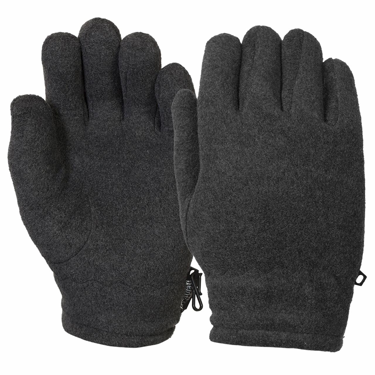 Теплые мужские перчатки из флиса