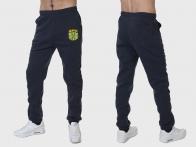 Теплые мужские спортивные штаны ВКС (на флисе)