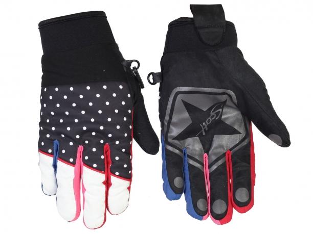 Теплые женские перчатки Scott