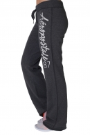 Теплые женские штаны на резинке, спорт-шик от HIT THEROCK.