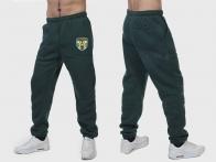 Теплые спортивные мужские штаны ФСО (на флисе)