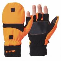 Теплые варежки-перчатки из флиса Thinsulate HOT SHOT